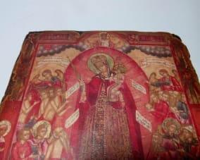 Ікона Всіх Скорботних Радість ручної роботи