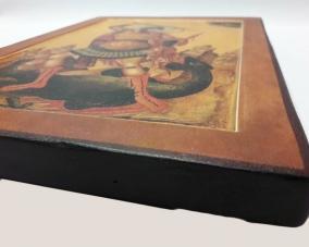 Икона Георгия Победоносца ручной работы –  Магазин Икон | Фотография 3