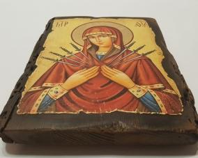 Икона Семистрельной Божьей Матери –  Магазин Икон | Фотография 2
