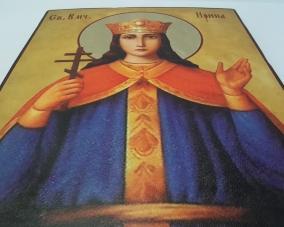 Икона Святой Ирины ручной работы –  Магазин Икон | Фотография 3