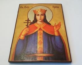 Икона Святой Ирины ручной работы –  Магазин Икон | Фотография 4