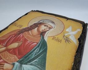 Икона Святой Ирины ручной работы –  Магазин Икон | Фотография 6