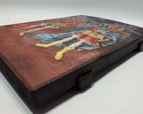 Икона Святых Феодора Стратилата  и Феодора Тирона –  Магазин Икон | Фотография 2