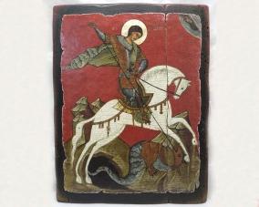 Икона Георгия Победоносца ручной работы –  Магазин Икон | Фотография 5
