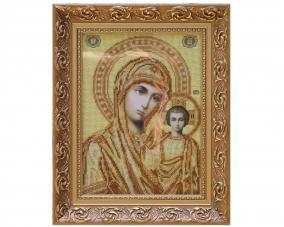 Иконы Казанской Богоматери бисером