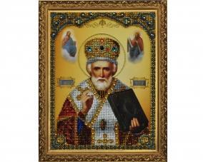 Иконы Святого Николая бисером