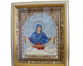 Иконы бисером Покрова Богородицы –  Магазин Икон | Фотография 1