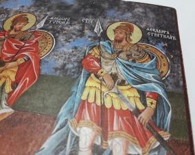 Икона Святых Феодора Стратилата  и Феодора Тирона –  Магазин Икон | Фотография 6