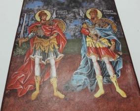 Икона Святых Феодора Стратилата  и Феодора Тирона –  Магазин Икон | Фотография 4