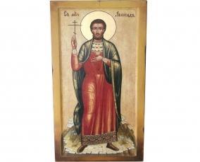 Икона Святого мученика Леонида