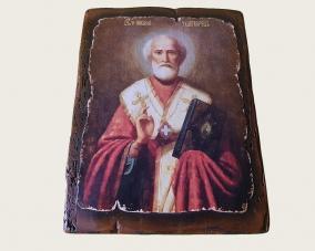 Икона Святого Николая ручной работы –  Магазин Икон | Фотография 1