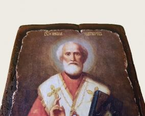 Икона Святого Николая ручной работы –  Магазин Икон | Фотография 2