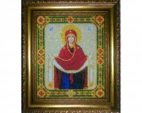 Иконы бисером Покрова Богородицы –  Магазин Икон | Фотография 2