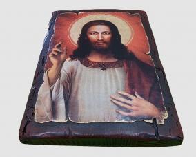 Икона Спасителя (Туринская Плащаница)