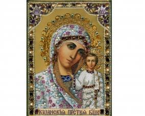Иконы Казанской Богоматери бисером –  Магазин Икон | Фотография 4
