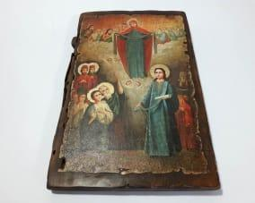 Ікона Пресвятої Богородиці ручної роботи
