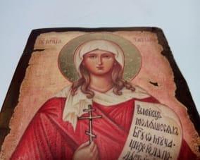 Икона Святой мученицы Татьяны