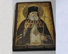 Икона Святой Лука Крымский ручной работы –  Магазин Икон | Фотография 8