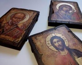 Иконы для Семьи ручной работы