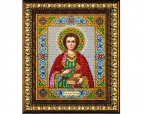 Иконы Пантелеймона Целителя бисером –  Магазин Икон | Фотография 1
