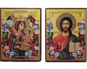 Венчальная пара икон Неувядаемый Цвет –  Магазин Икон | Фотография 1