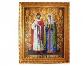 Иконы Петр и Феврония бисером –  Магазин Икон | Фотография 2