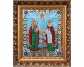 Иконы Петр и Феврония бисером –  Магазин Икон | Фотография 1