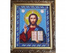 Иконы Спасителя Иисуса Христа бисером –  Магазин Икон | Фотография 4