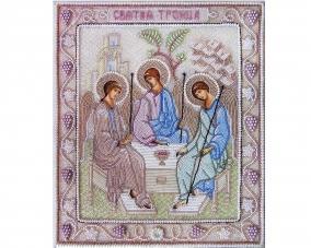 Иконы Святая Троица бисером –  Магазин Икон | Фотография 2