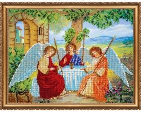 Иконы Святая Троица бисером –  Магазин Икон | Фотография 4