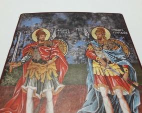Икона Святых Феодора Стратилата  и Феодора Тирона –  Магазин Икон | Фотография 7