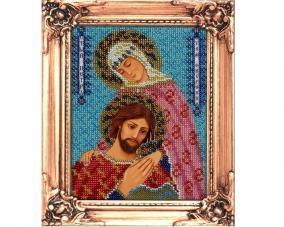 Иконы Петр и Феврония бисером –  Магазин Икон | Фотография 4