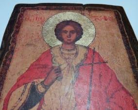 Ікона Святого Трифона ручної роботи