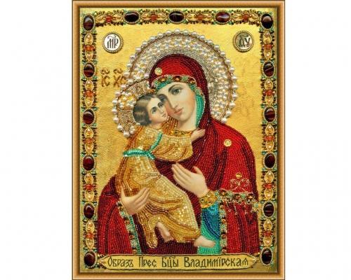 Иконы Владимирской Богоматери бисером –  Магазин Икон | Фотография 1
