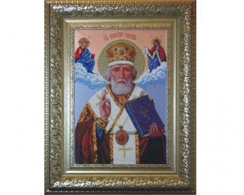 Иконы Святого Николая бисером –  Магазин Икон | Фотография 3