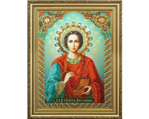 Иконы Пантелеймона Целителя бисером –  Магазин Икон | Фотография 4