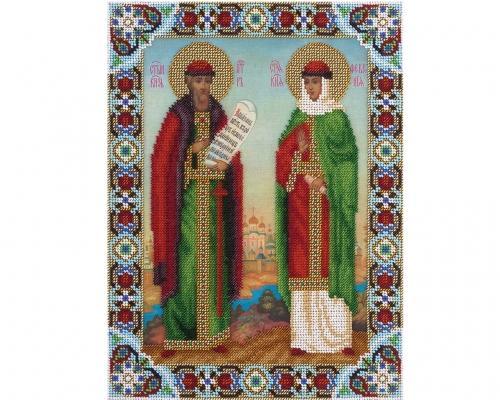Иконы Петр и Феврония бисером –  Магазин Икон | Фотография 3