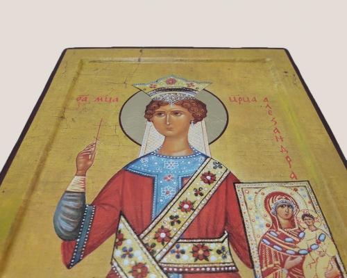 Мерная икона Царица Александра –  Магазин Икон | Фотография 4