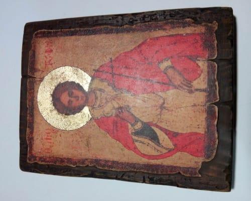 Икона Святого Трифона ручной работы