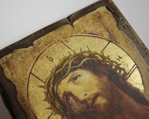 Икона Спасителя в терновом венце