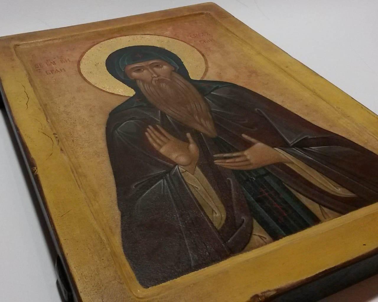 Ікона Святого Олега на ковчежній дошці. Title f76ae9e4f1615