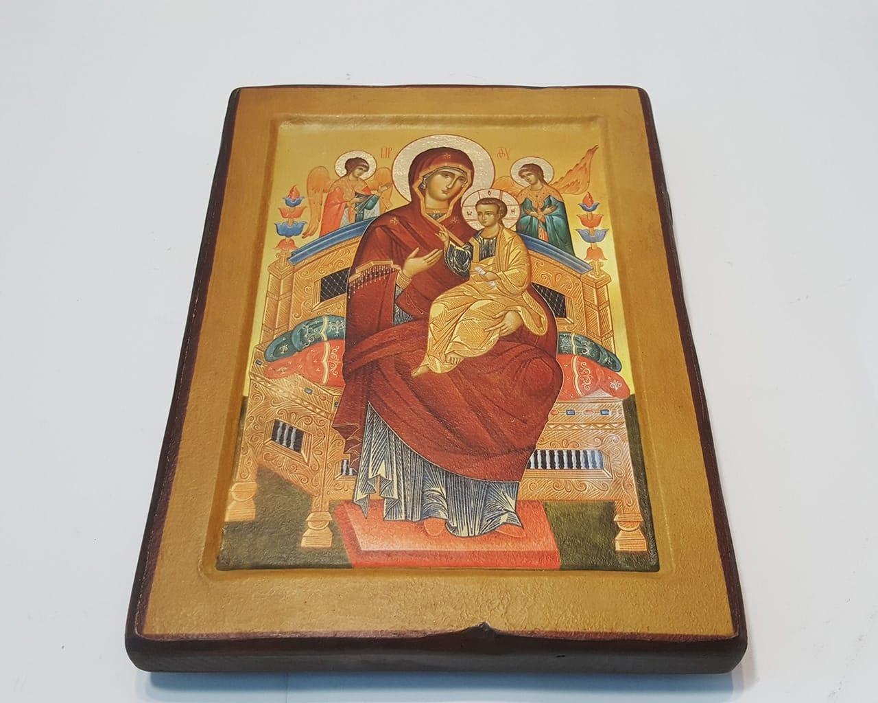 Ікона Божої Матері Всецариця Ватопедська на Ковчежній Дошці f3b1bc79e889f